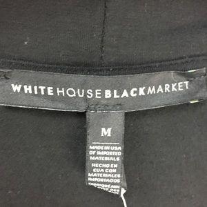 White House Black Market Tops - White House Black Market Black Choker LS Top